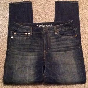 NWT American Eagle Skinny Jeans Size 14